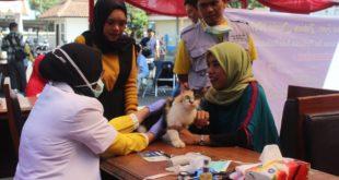 Puskeswan Dispertan Kota Tasik Adakan Vaksin Rabies Gratis