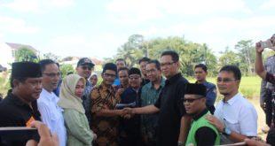 Sejumlah Elemen Masyarakat Boyong Anggota DPRD Dapil 4 Kunjungi Pembangunan Masjid Besar Mangkubumi