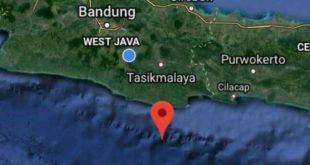 Gempa Tasikmalaya Tidak Berpotensi Tsunami