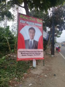 Calon Kepala Desa Margalaksana Kecamatan Salawu, Asep Mamun