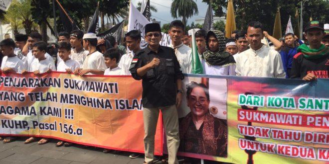 Forum Mujahid Tasikmalaya,  Serukan Aksi Tangkap Sukmawati