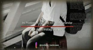 Ini Postingan Terakhir Afridza Munandar di Instagramnya