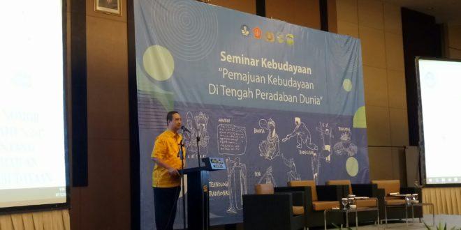 Anggota DPR RI Ini Adakan Seminar, Bangkitkan Budaya Ciri Khas Bangsa Indonesia