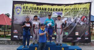 Jasa Kartini Offroad Team Raih Hattrick Juara Umum Di Kejurda Jabar Adventure Offroad Individual