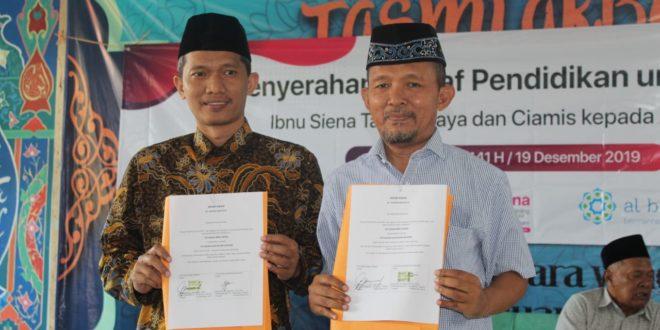 Seluruh Aset Ibnu Siena Diwakafkan Untuk Umat Melalui Yayasan Al Bunyan