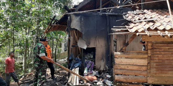 Dapur Rumah Ma Ijoh Di Kawalu Ludes Terbakar