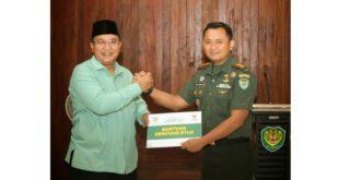Walikota Tasikmalaya, Berikan Simbolis Bantuan RTLH Bagi Para Veteran