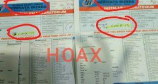 Tersebar Di Media Sosial Di Tasikmalaya ada yang Positif Corona Itu HOAX