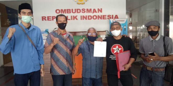 Koalisi Ormas LSM Kota Tasikmalaya Datangi Ombudsman
