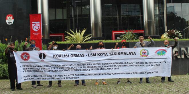 Koalisi Ormas LSM Kembali Ke Gedung KPK