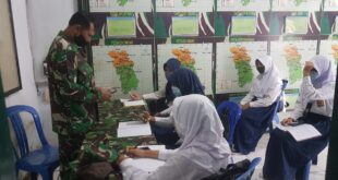 Seluruh Koramil di KODIM 0612 Tasikmalaya fasilitasi kegiatan Belajar Online Bagi Siswa