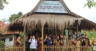 Tim Verifikasi Data Mitigasi Perubahan Iklim Kementerian LHK Datangi Lembur Berseka Proklim Di Desa Sumberjaya