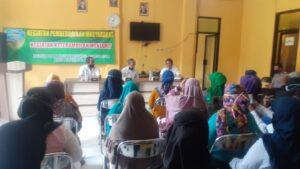 Pelatihan Menjahit di Kelurahan Kotabaru, rabu (09/09/2020)