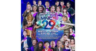 Kolaborasi Musisi Tanah Air, Siap Ramaikan Konser Kilau Raya MNCTV 29 Malam ini