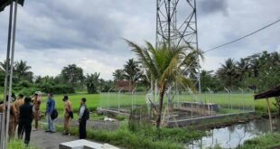 Warga Tawang Banteng Keluhkan Pembangunan Tower Bodong Segera di Bongkar