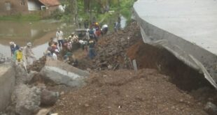 Ambruknya TPT RS Purbaratu, Komisi III DPRD Kota Tasik Akan Panggil Dinas PUPR