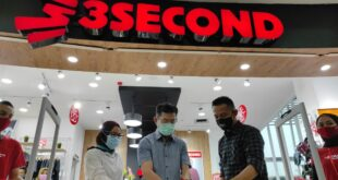 Grand Opening 3Second di Asia Plaza Hadirkan Fashion Terlengkap