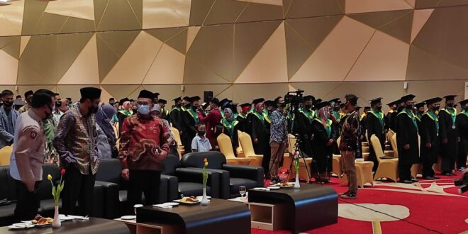 STAINU Kota Tasikmalaya Adakan Wisuda Ke-09, 62 Wisudawan Diharapakan Bisa Bermanfaat Di Tengah Masyarakat