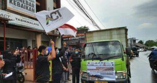 4 Ton Bantuan Kemanusiaan dari Tasikmalaya Diberangkatkan Menuju Sulbar & Kalsel