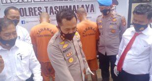 Dua Kelompok Pengedar Sabu Berhasil Ditangkap Polres Tasikmalaya