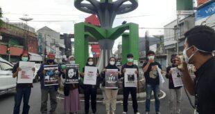 Forum Jurnalis Tasikmalaya Melawan Pinta Kapolri Usut Tuntas Kekerasan Terhadap Wartawan Tempo