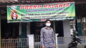 Arif Rachman saat ditemui di rumahnya, kamis (22/4/2021)