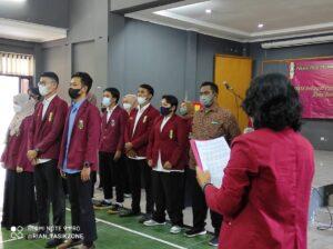 Prosesi Pelantikan Ikatan Mahasiswa Muhammadiyah Kota Tasikmalaya Periode 2021-2022