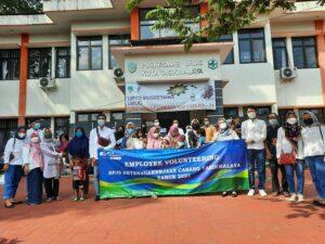 Foto Bersama BPJAMSOSTEK Tasikmalaya dengan seluruh peserta kegiatan