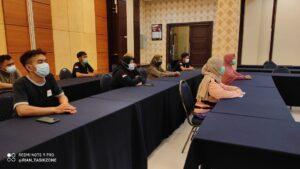 Relawan Nakes yang mendapatkan fasilitas dari hotel harmoni tasikmalaya