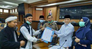 Aliansi Muslim Tasikmalaya Sampaikan Aspirasi Pembebasan HRS Dihadapan DPRD