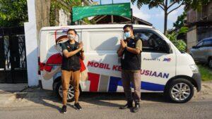Penyerahan Bantuan Mobil Kemanusiaan dari JNE Tasikmalaya ke ACT Tasikmalaya