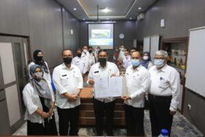 MoU PLT Walikota Tasikmalaya bersama Bapenda Kota Tasikmalaya