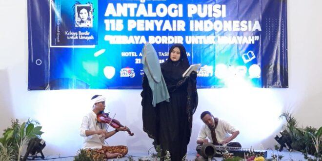 Ketua DPRD Kota Tasik Apresiasi Launching Buku Antopologi Puisi Kebaya Bordir Untuk Umayah