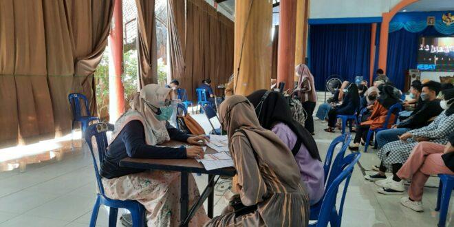 Vaksinasi Mahasiswa Universitas Muhammadiyah Tasikmalaya