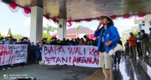 Hari Tani Nasional, PC PMII Kota Tasik Tuntut Pemkot Tasik Berikan Perlindungan Kepada Petani