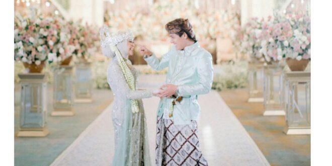 Keren, Lesty Kejora dan Rizky Billar Saat Pernikahan Memakai Batik Asli Tasikmalaya