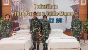 Pelatihan Table Manner dan Tata Graha di Hotel Harmoni Tasikmalaya, selasa (14/9/2021)