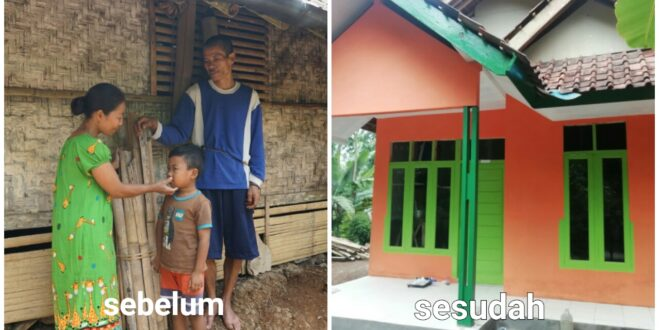 Rumah Layak Untuk Sholeh dan Keluarga